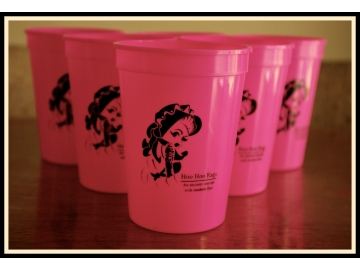Jane Plastic Cup 12oz.